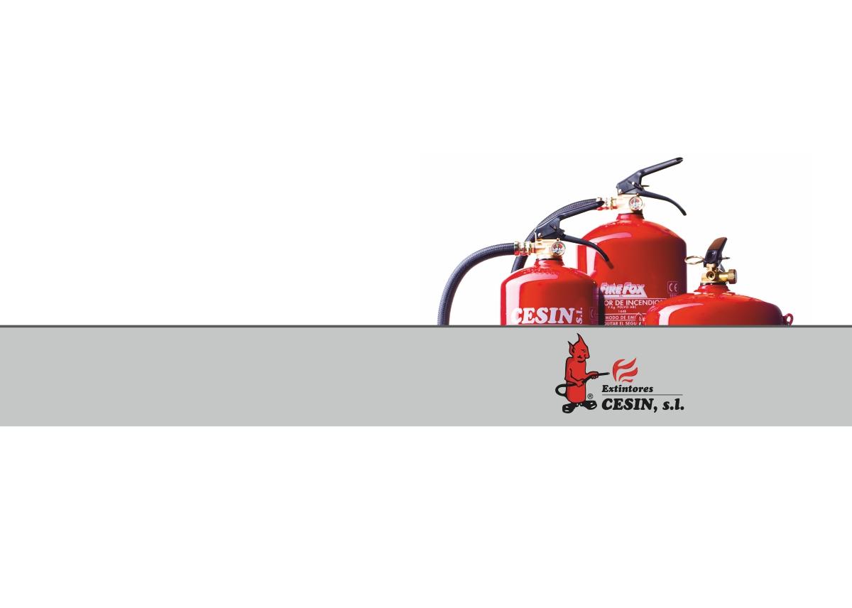 dossier extintores CESIN
