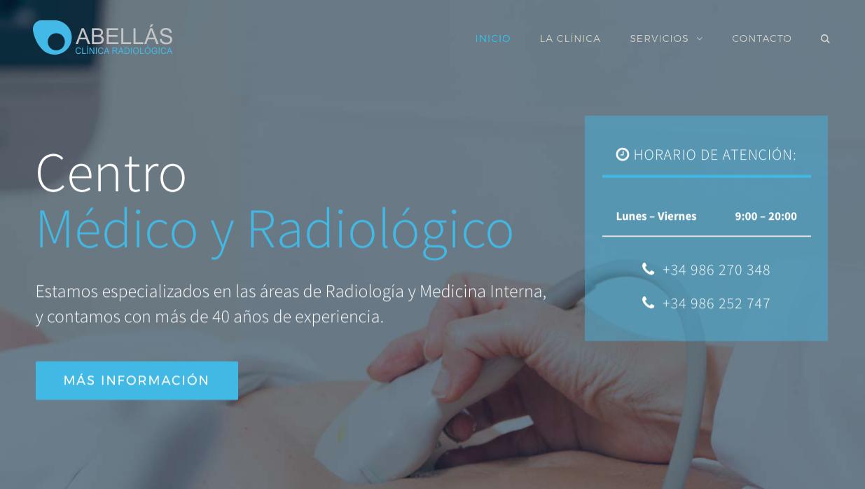 captura web clínica abellás