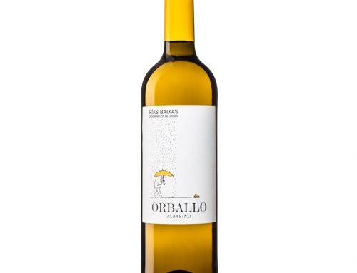 Diseño de etiqueta para el albariño ORBALLO